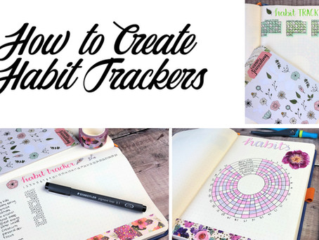 How to Create Habit Trackers