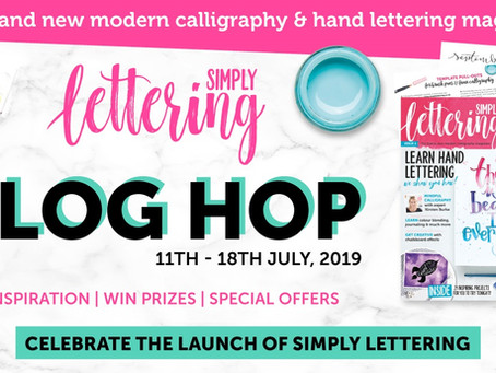 Simply Lettering Blog Hop & Prizes