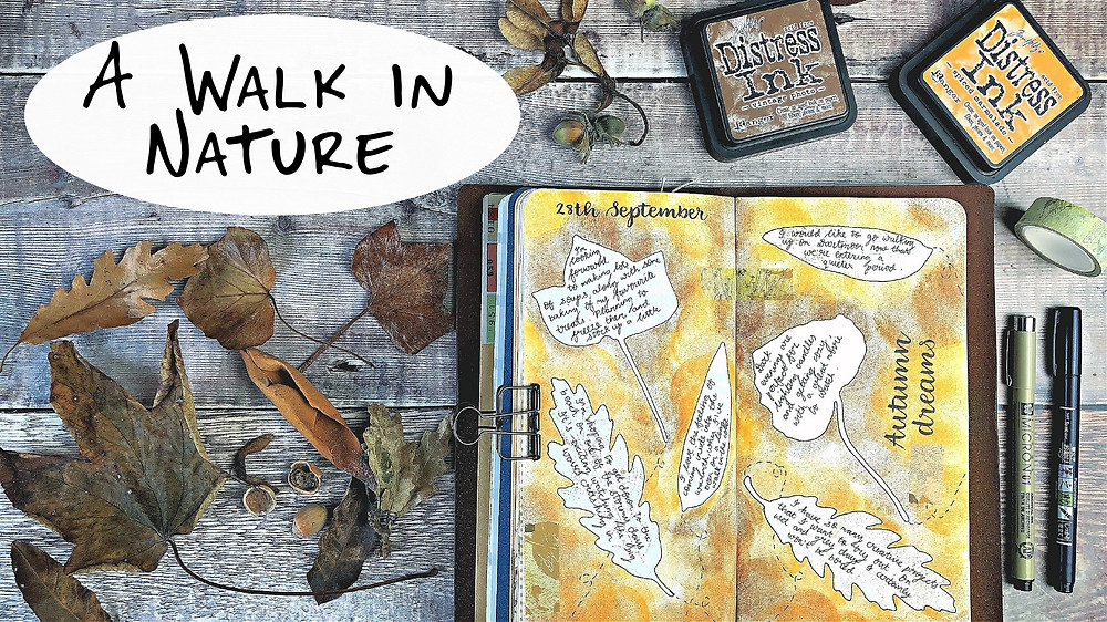 Bringing Nature into your Journal