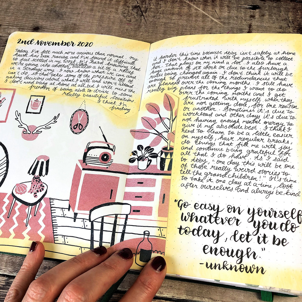 Creative Journal Pages