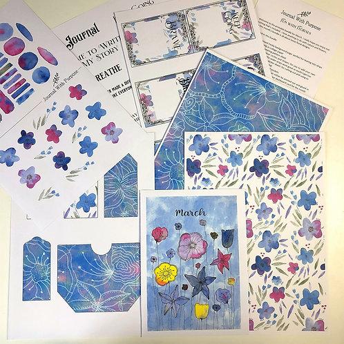 Journal Printables Bundle - Fun with Florals