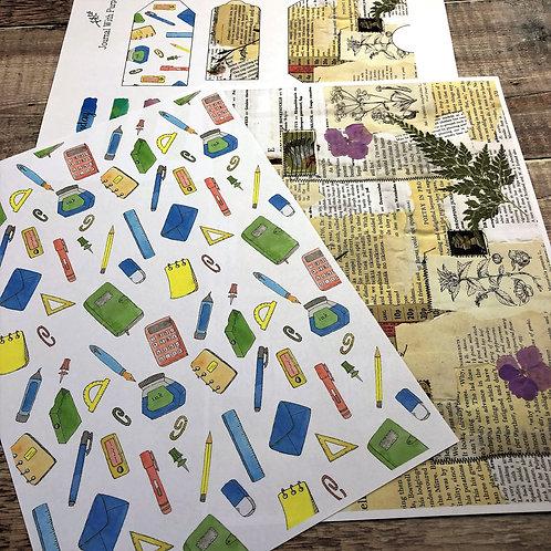 Journal Printables Bundle - Stationery Lovers