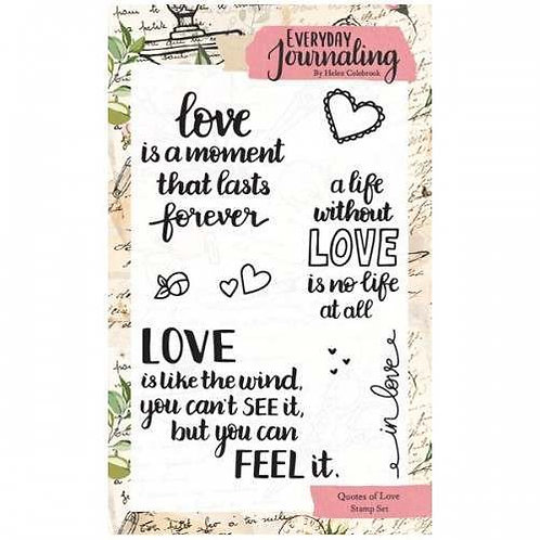 Quotes of Love Stamp Set