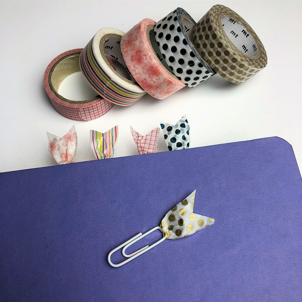 Washi Tape Paper Clips