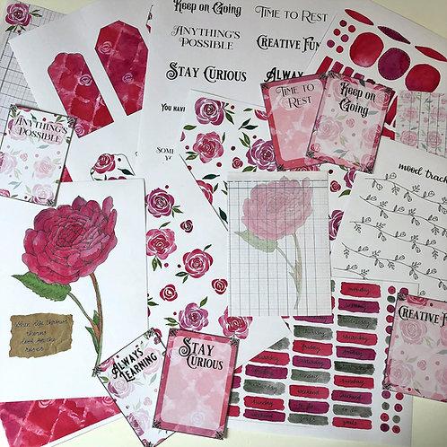 Journal Printables Bundle - Radiant Roses