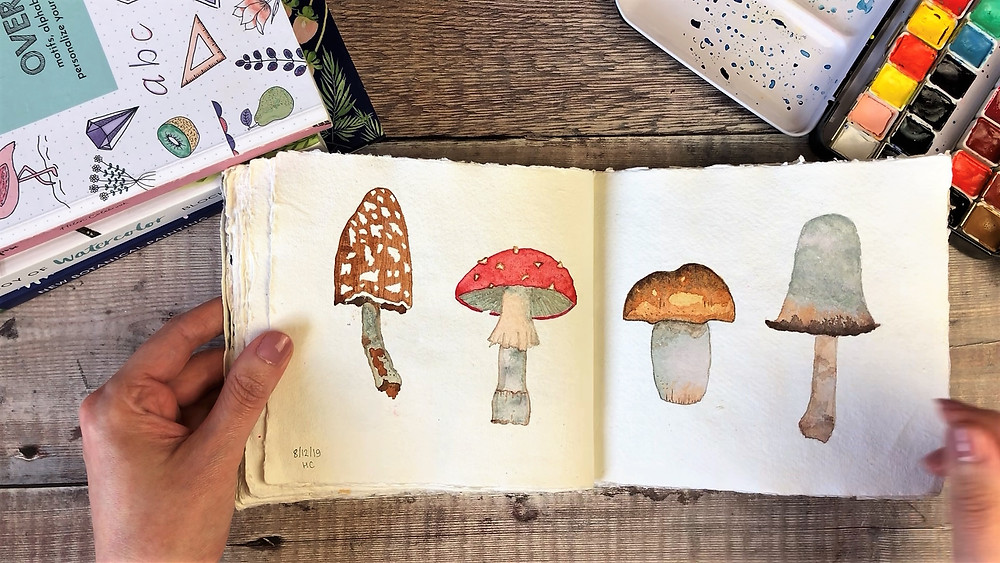 Painted Toadstools