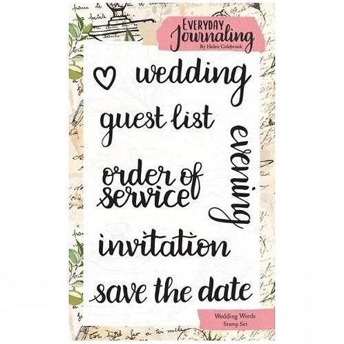 Wedding Words Stamp Set