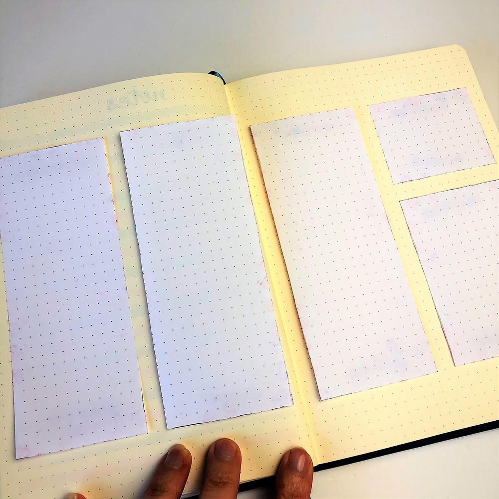 Washi tape layout