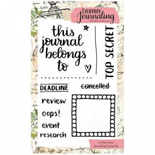 A6 Journaling Stamp Set