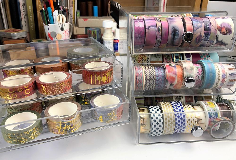 Washi Tape Storage