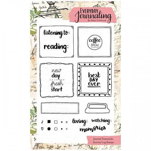 Activity Log Stamp Set