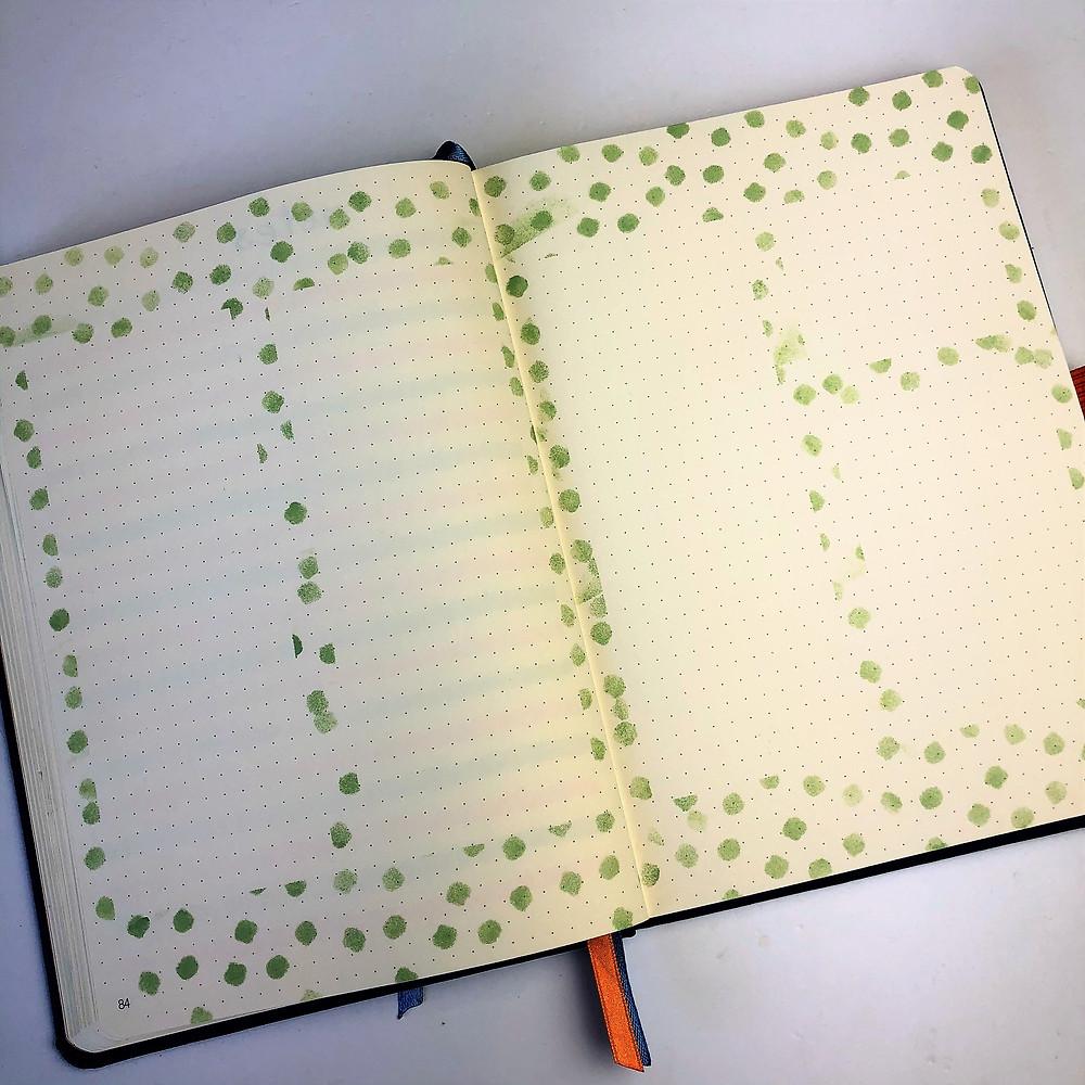 Journal Stencil Layout