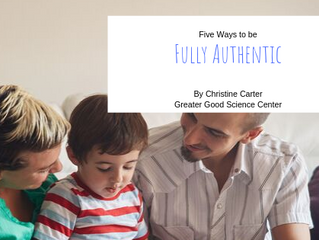 Five Ways to be Fully Authentic