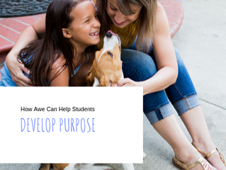 How Awe Can Help Students Develop Purpose