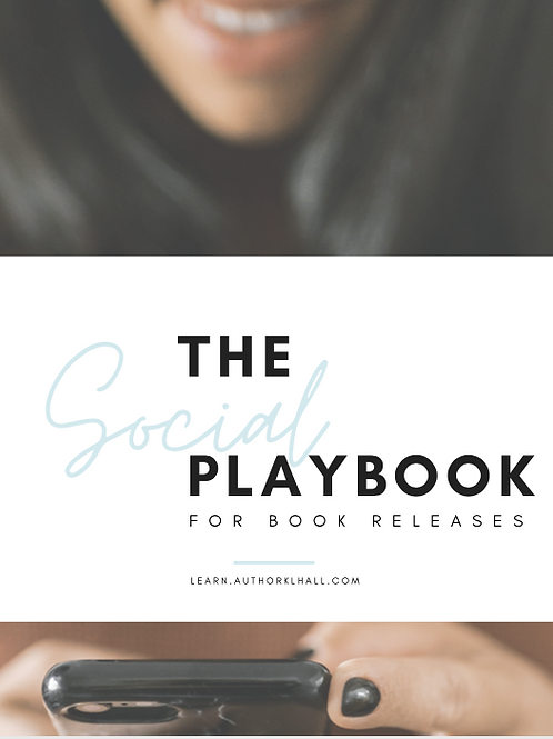 The Social Playbook for Book Releases