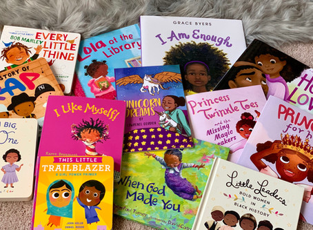 Black Representation Matters: African-American Books in my Daughter's First Library