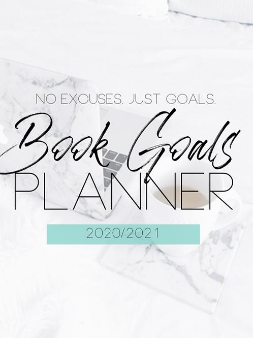 2020/2021 Book Goals Digital Planner