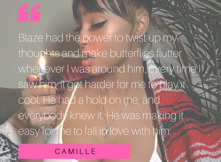 Built for a Savage: Blaze and Camille's Love Story Character Quotes
