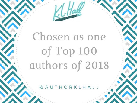 THANK YOU: Top 100 Authors of 2018!