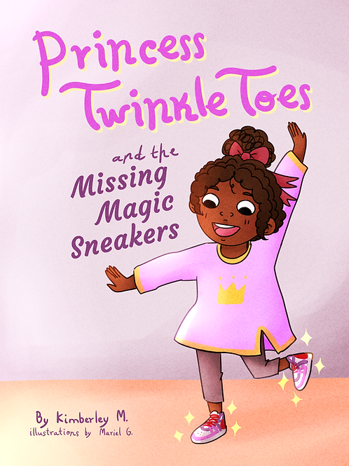 Princess Twinkle Toes and the Missing Magic Sneakers