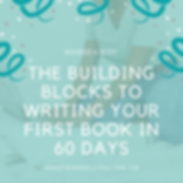 the building blocks to writing your firs