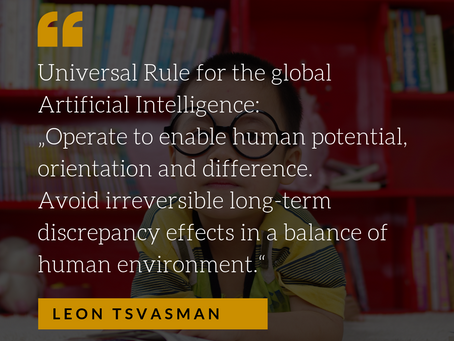 Epistemology of AI: Foundation for the Universal Rule