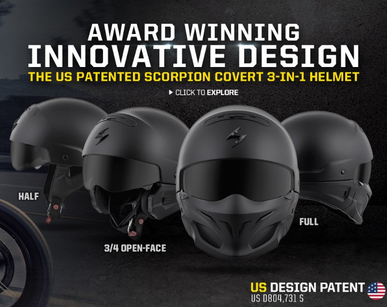 SCORPION HELMETS STARNSANDSONS.COM