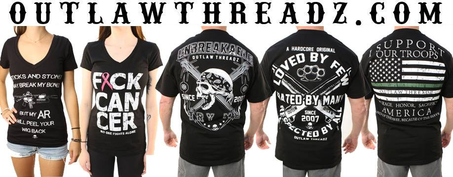 OUTLAW THREADZ STARNSANDSONS.COM