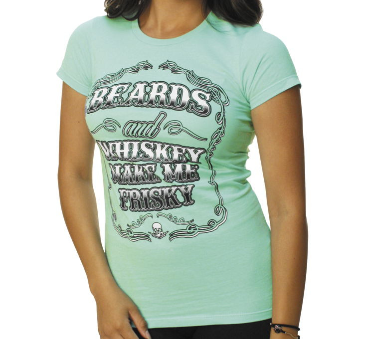Outlaw Threadz Women's Beards And Whiskey