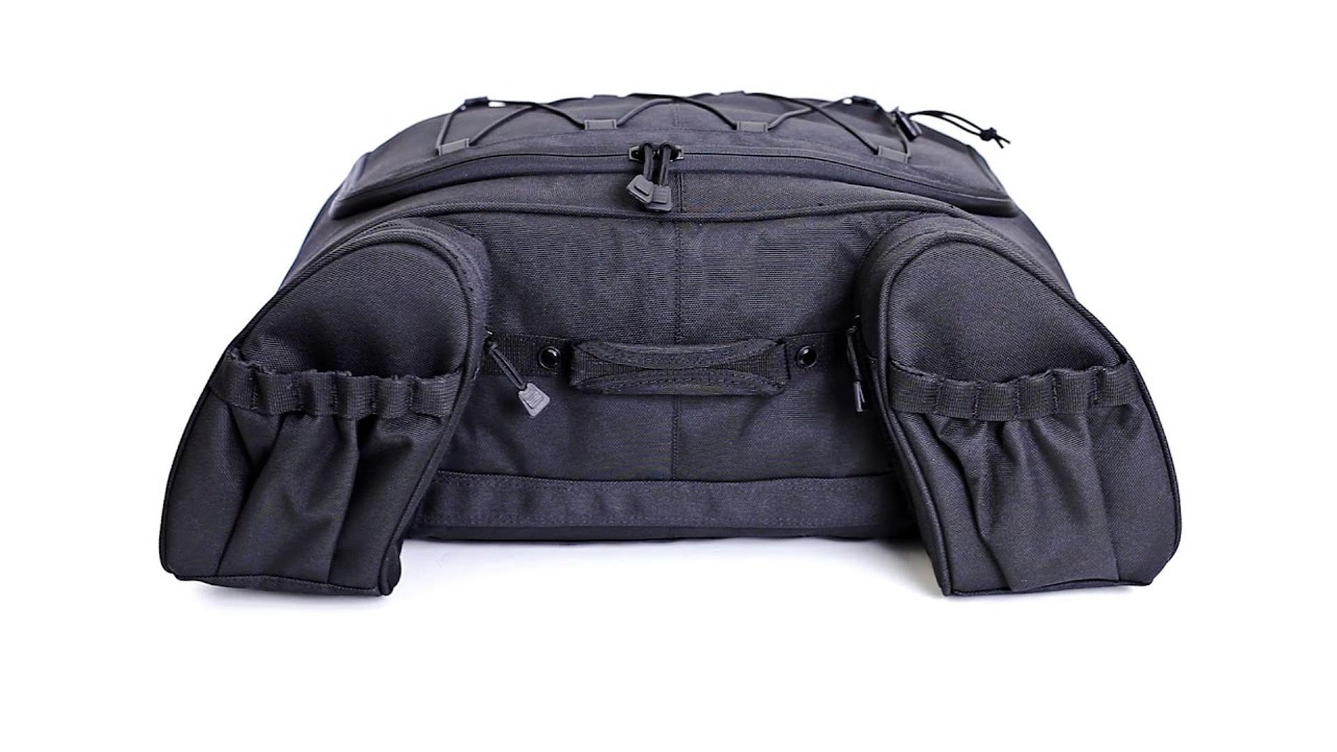 KURYAKYN DELUXE MOMENTUM HITCHHIKER LUGGAGE RACK BAG TOURING HARLEY FLH FLHX STARNSANDSONS.COM