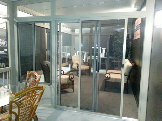 Sunspace by NuBuild Patio doors and Tran
