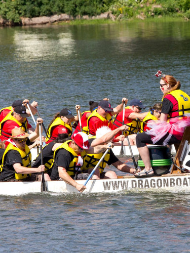 Race on the River Dragon Boat Festival