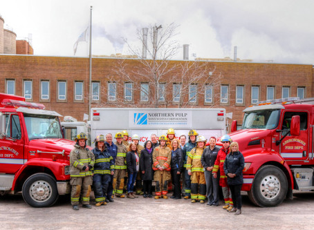 Paper Excellence donates to Abercrombie Fire Department