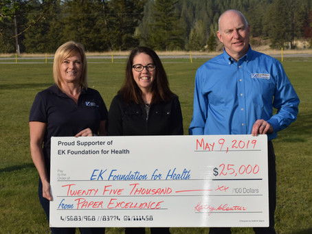 Paper Excellence donates to East Kootenay Foundation for Health