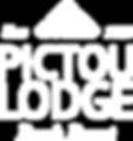 Pictou Lodge Logo White.png