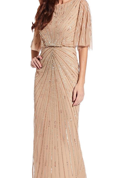 ビーズスパークロングドレス