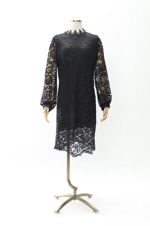 DRESS FREIA   レースドレス(ブラック)