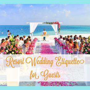 【結婚式】リゾートウェディングのマナー