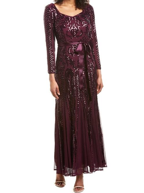 ゴージャスリボンロングドレス
