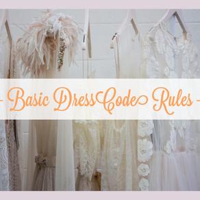 ドレスコードの基本ルール