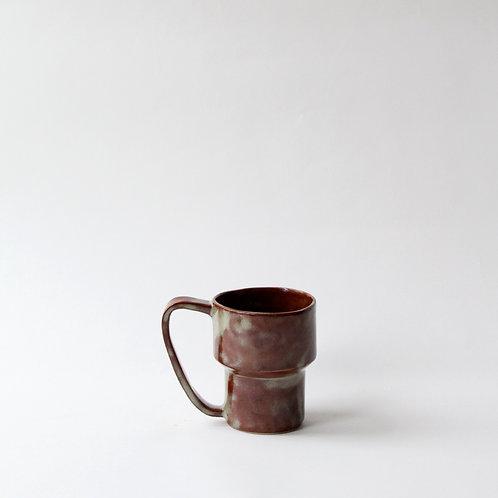 Brown & Marbled Mug