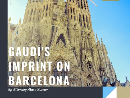 Gaudi's Imprint on Barcelona