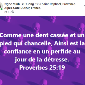 Proverbes 25:19