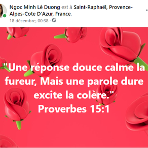 Proverbes 15:1