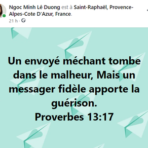 Proverbes 13:17
