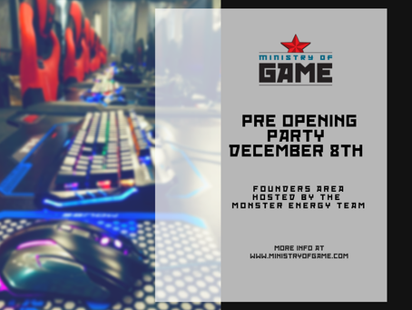 Ministry of Game set to open in Toronto