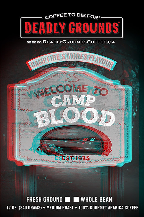 Camp Blood - Campfire S'Mores - 340 Grams