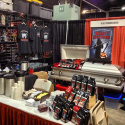 The Deadly Grounds Booth