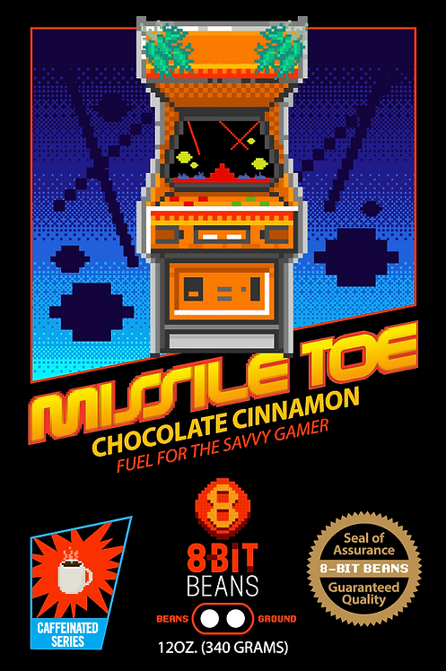 Missile Toe - Chocolate Cinnamon 340 grams