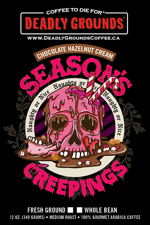 Season's Creepings - Chocolate Hazelnut (340 grams Wholesale)